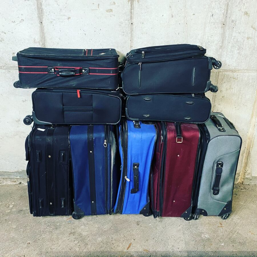 Suitcases $10 each / 3 for $20 !