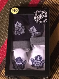 New Toronto Maple Leaf baby socks Toronto, M2M 2A3