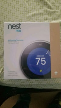 Nest pro thermostat. Brand new in a box Lathrop, 95330