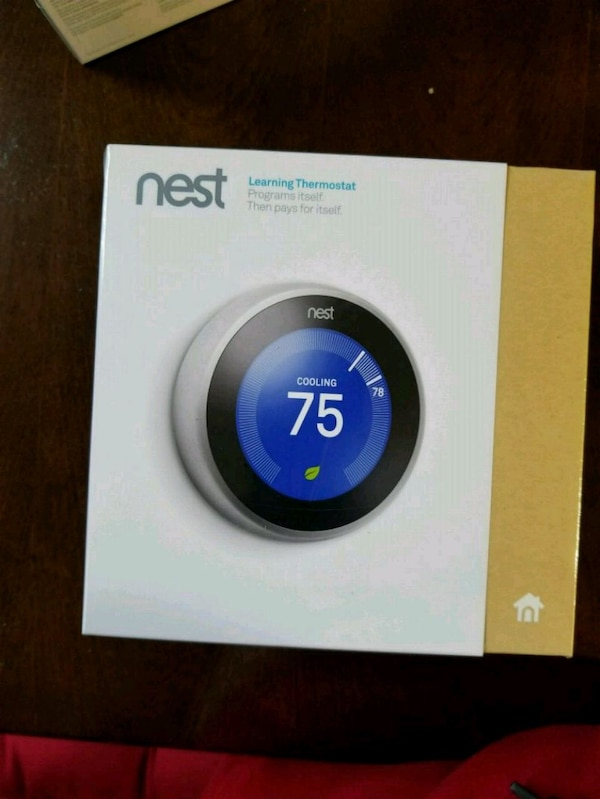 Nest Learning Thermostat - 3rd Gen, WiFi
