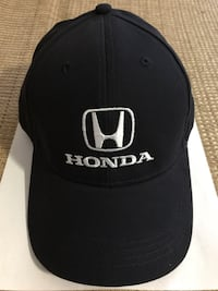 Reduced for a quick sale: New hat with embroidered Honda logo, dark blue Gaithersburg, 20877