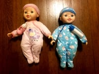 Two barely used dolls with their own baby bottles. Washington, 20018