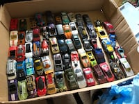 62 matchbox style small cars. They are in varies conditions. Must take all. Vienna, 22181