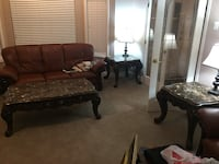 Authentic marble coffee table and end table set Chilliwack, V2P 7Z3