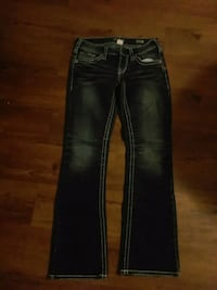 Woman's Silver boot cut size 27 perfect condition Cambridge, N3H 5L4