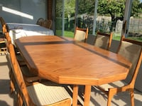 Oak Dining Set Mississauga
