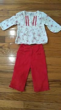 Sonoma 2 piece of baby clothes size 6 _9 months  Medford
