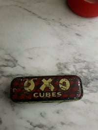 antique oxo cube tin