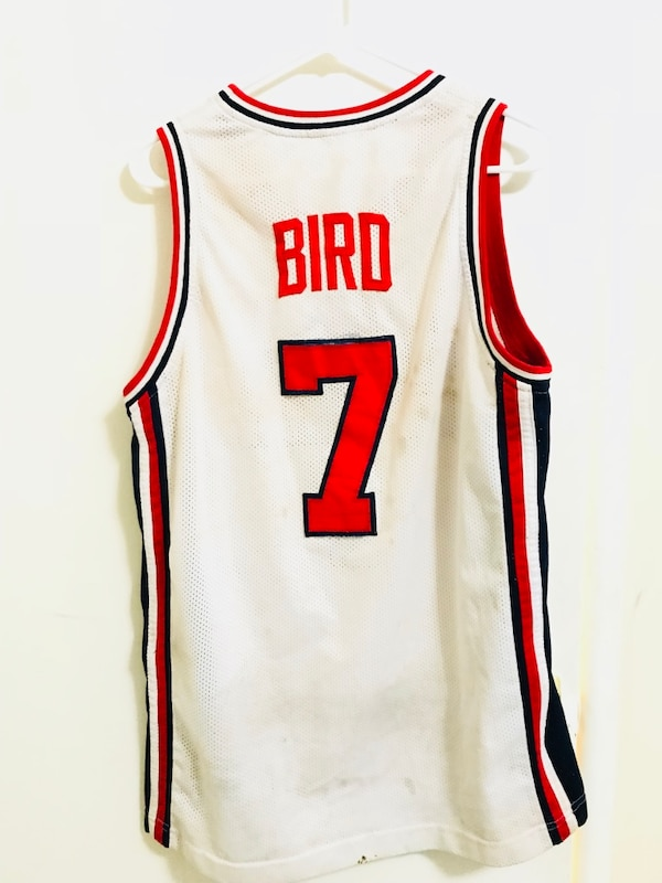 "pretty nice a7132 53e08 Vintage authentic Larry bird ""dream team"" jersey"