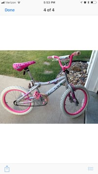 toddler's black and pink bicycle Altoona, 50009