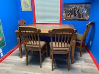 Solid wood table and chairs   null, T0B 3M2