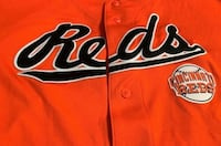 Large Cincinnati Reds Throwback Stadium Jersey