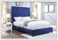 blue and white bed set Houston, 77009