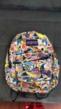 multicolored printed backpack and bag Stafford, 22554