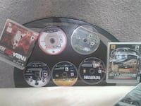 four assorted-title Sony PS3 game discs Laurel, 20708