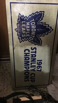 Toronto Maple Leaf 1967 Stanley Cup Champions wall decor Kitchener