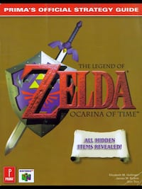 CLASSIC ZELDA OCARINA OF TIME STRATEGY GAME GUIDE . Edmonton, T5L