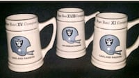 Raiders superbowl mugs Baltimore