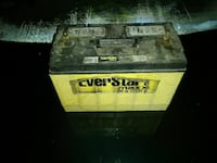 yellow and black Everstar car battery Springfield