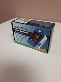Dagamma Pulse Oximeter Model: DP100 In Blue Sapphire/Demo TORONTO