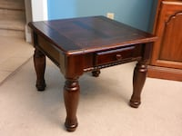 Real Wood End Table/Side Table London