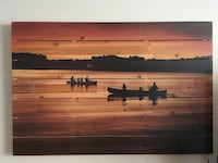 Wooden wall painting New Tecumseth, L0G 1W0