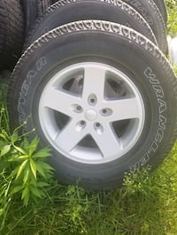 Jeep goodyear wrangler tires and rims