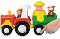 toddler's multicolored plastic train toy Holtwood, 17532