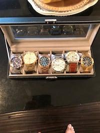 6 men's watches  Bolton, L7E 2K1