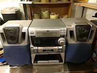 Stereo,CD,Cassette Player Edmonton, T5E 5H3