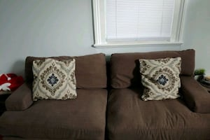 Couch & Pillows
