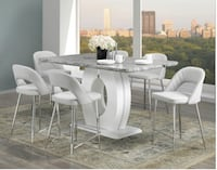 pub high 7pc dining set is now at sale  Brampton