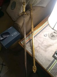 Real Knight's sword with Engravings on it Cleveland, 44109