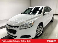 2015 Chevy Chevrolet Malibu Summit White sedan New York