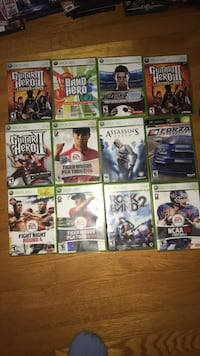 assorted Xbox 360 game cases Inwood, 25428