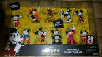 $20 Mickey Collectable Figurine Set.