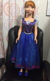 Large Anna Disney Frozen doll