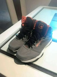 pair of ash-orange-and-black  AND1 snickers Arlington, 76011