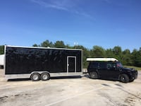 2018 BLACK CARGO TRAILER 2 3500 Lbs AXLES, FINANCING AVAILABLE Sherwood Park, T8B 1C6