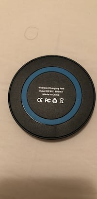 black and blue wireless charging pad Toledo, 43606