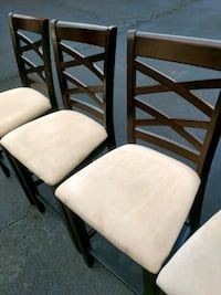 Wooden stool type chairs (4) Manassas, 20109