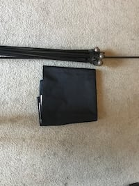 black and gray leather crossbody bag Bay Point, 94565