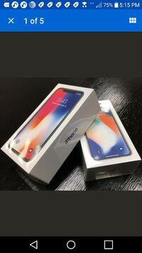 APPLE IPHONE X 64gb AT&T UNLOCKED
