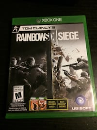 Xbox One Tom Clancy's Rainbow Six Siege case Coquitlam