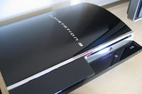 black Sony PS3 slim console Bakersfield