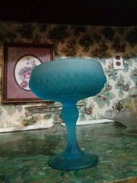FENTON satin candy dish Fort Mitchell, 36856