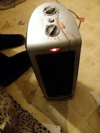 gray space heater
