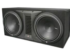 Two rockford fosgate  12 inch boxes