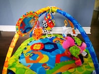 baby's blue and green activity gym Laval, H7Y 2A8