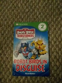 Anger birds transformers book Germantown, 20876